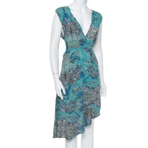 Zadig & Voltaire Root Printed Asymmetrical Dress